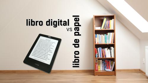 Libro digital vs libro en papel