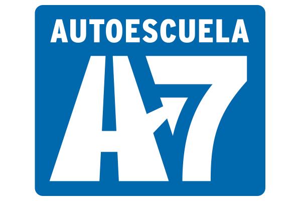 Diseño Logotipo Autoescuela A7
