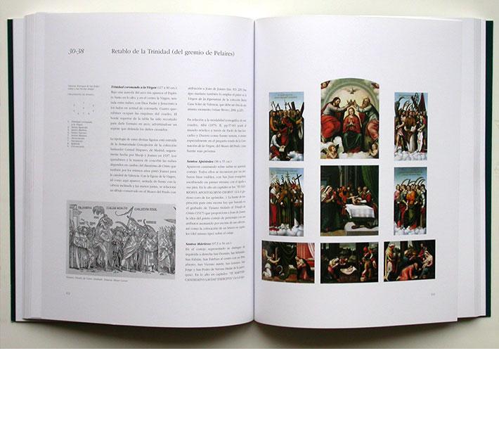 Diseño libro exposición Joan de Joanes
