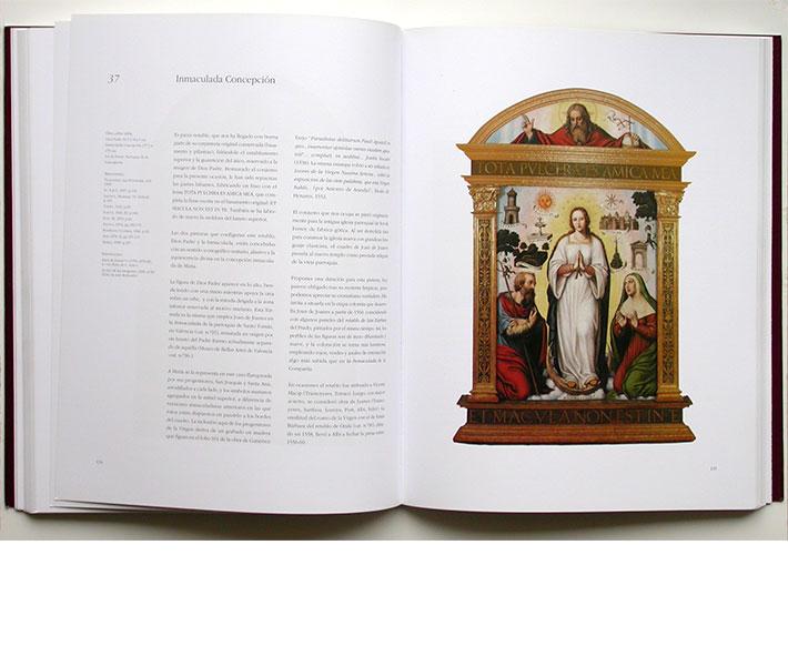 Maquetación fichas catálogo exposición