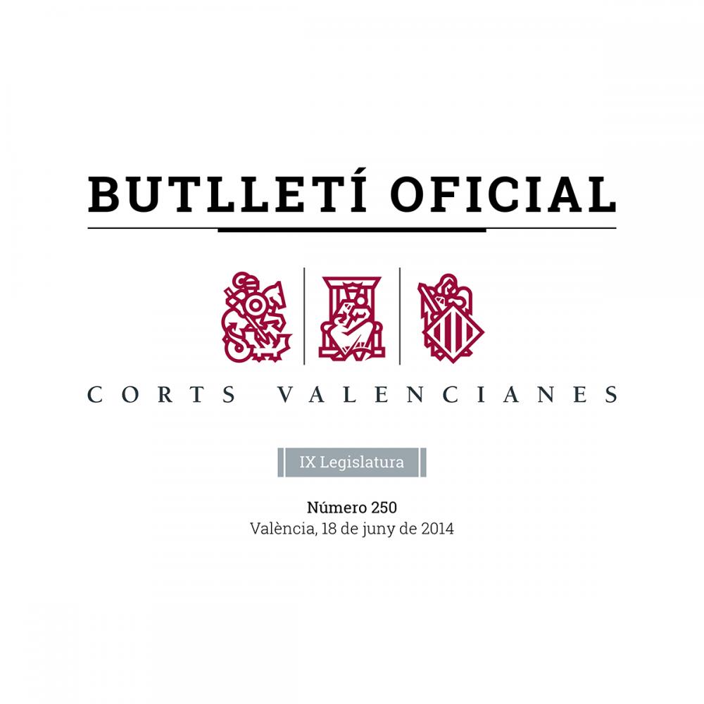 BO Corts Valencianes