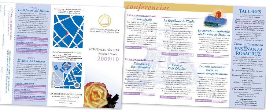 Diseño folleto cuadriptico