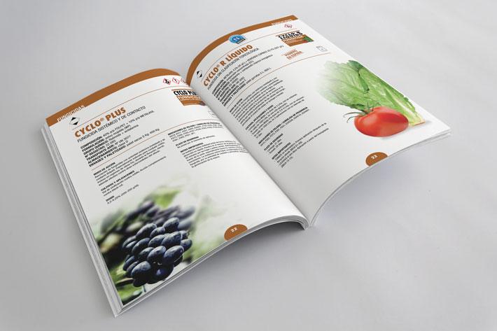 páginas interiores fichas catálogo