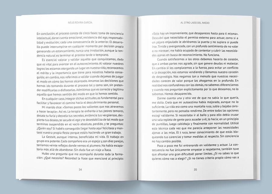 Propuesta alternativa con texto sans serif