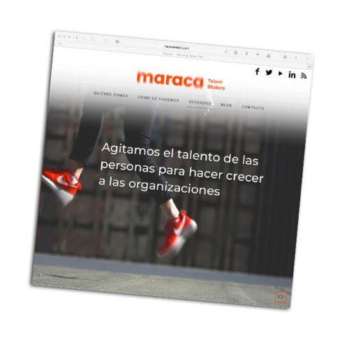 Web Maraca Talent Shakers